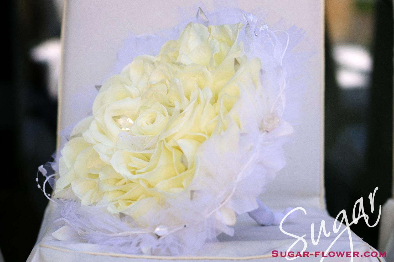 Millió rózsaszirom – menyasszonyi csokor