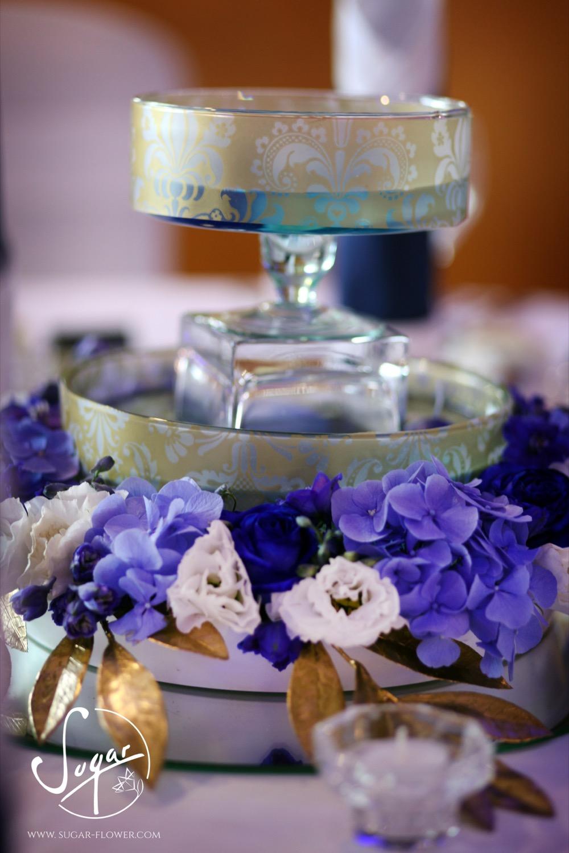 Kék-arany elegancia